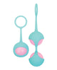 Adam & Eve Eve's Kegel Training Set - Pink/Teal