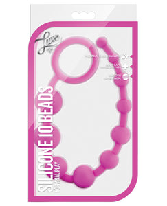 Blush Luxe Silicone Beads 10 - Pink