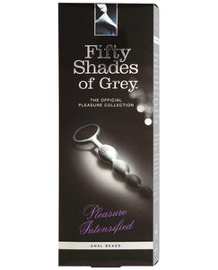 Fifty Shades of Grey Pleasure Intensified Anal Beads | Lavish Sex Toys