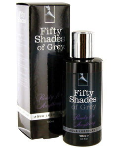 Fifty Shades of Grey Ready for Anything Aqua Lubricant - 3.4 oz | Lavish Sex Toys