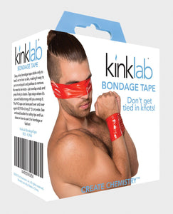 Kinklab Bondage Tape - Red