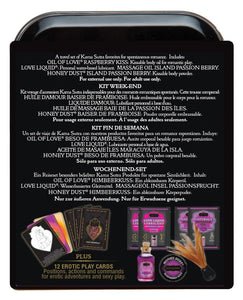 Kama Sutra The Weekender Kit - Raspberry Kiss | description