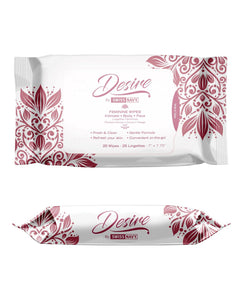 Swiss Navy Desire Unscented Feminine Wipes