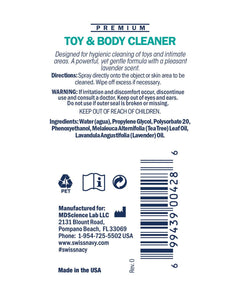 Toy & Body Cleaner - 1 oz