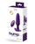 VeDO Bump Plus Rechareable Remote Control Anal Vibe - Deep Purple