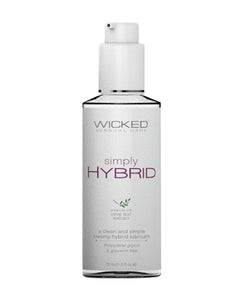 Wicked Sensual Care Simply Hybrid Lubricant - 2.3 oz
