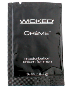 Wicked Sensual Care Creme Masturbation Cream for Men - .1 oz | Lavish Sex Toys