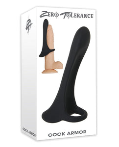 Zero Tolerance Cock Armor - Black