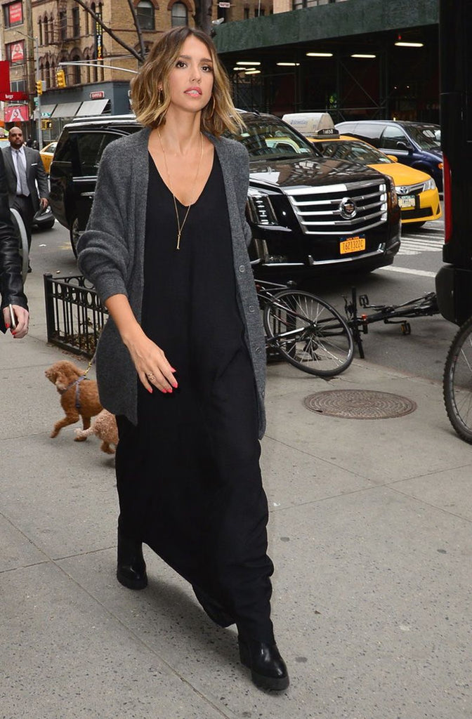 mad jade jessica alba cardigan sweater dress