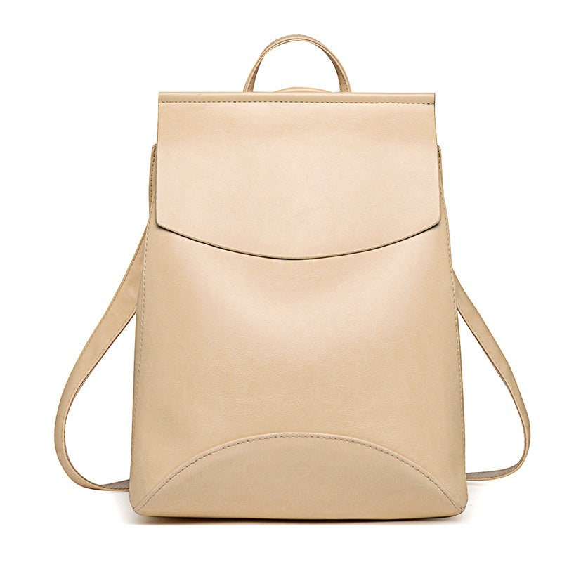 Goda Faux Leather Women's Backpack For Work - Mad Jade