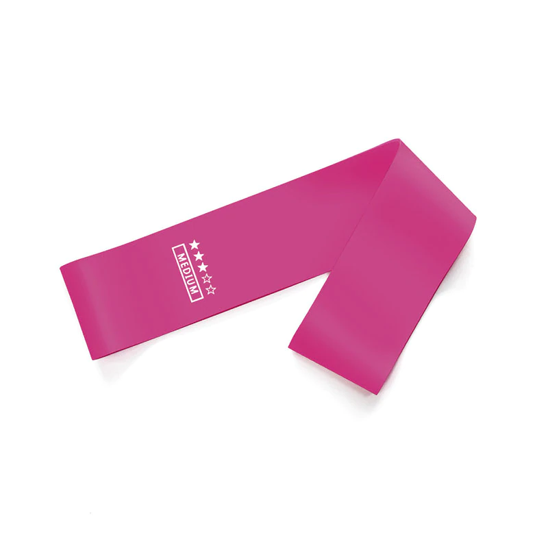 Medium resistance band for yoga workout