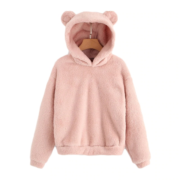 Teddy Hooded Sweatshirt with Signature Ears