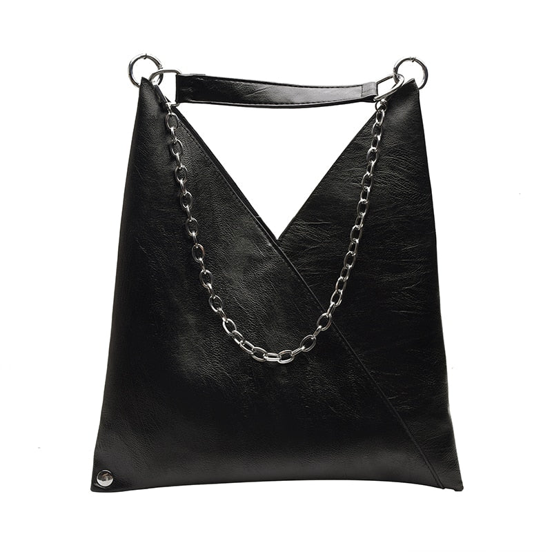 Beth Faux Leather Shoulder Bag - Mad Jade
