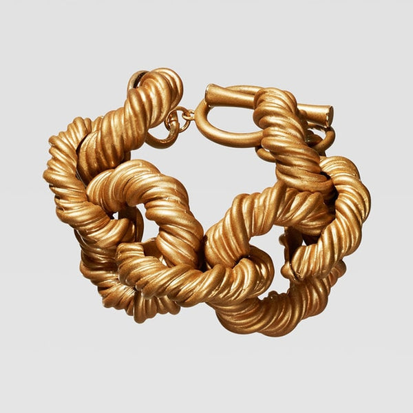 Michelle Chain Gold Bracelet
