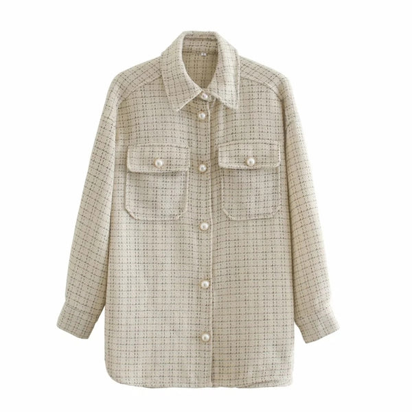 Harper Tweed Oversize Vintage Shacket