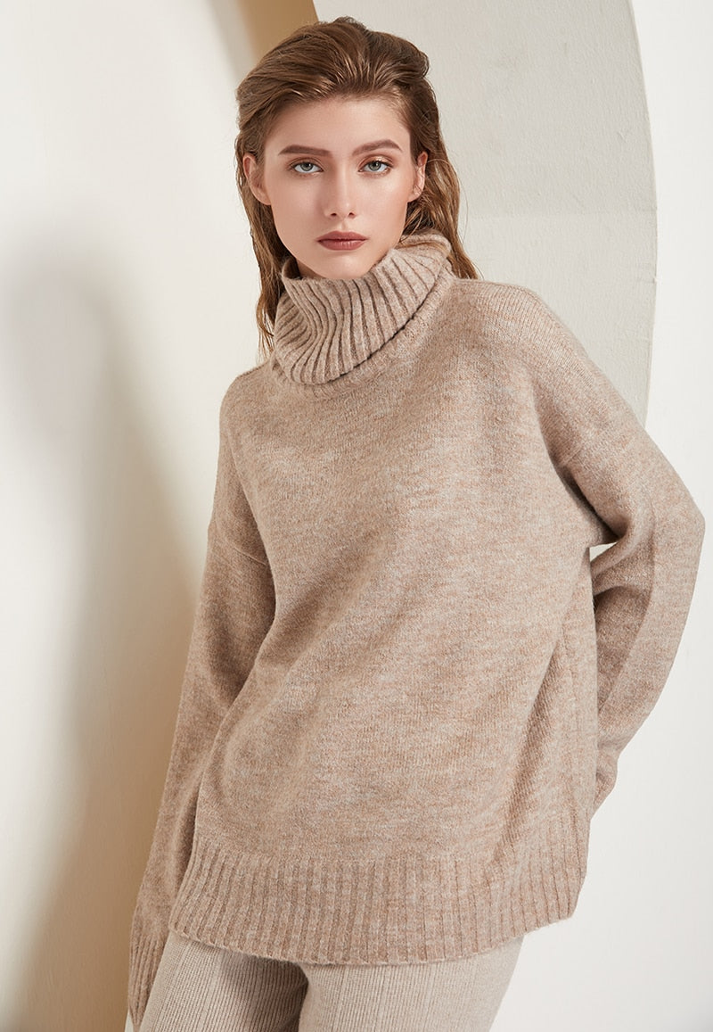 Paula Turtleneck Oversize Sweater