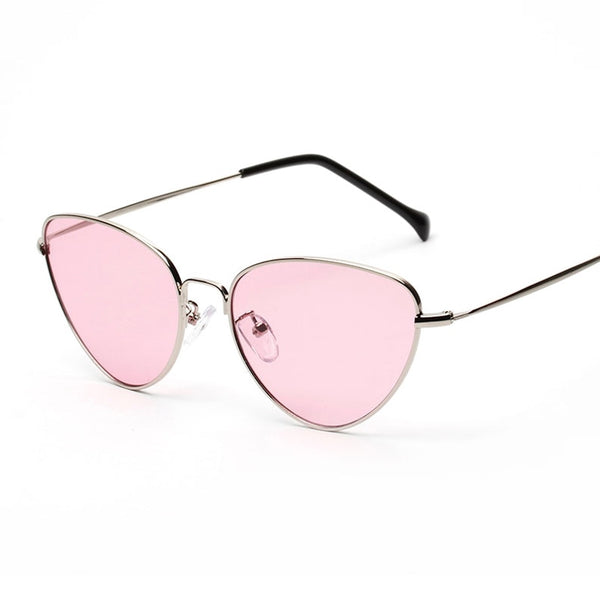Aby Retro Style Sunnies In Aesthetic Pink - Mad Jade