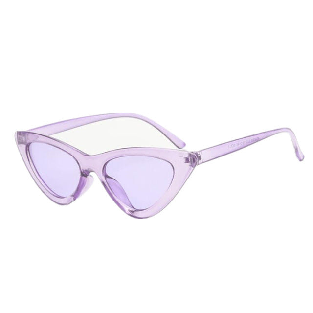 Lee Cat Eye Sunglasses With Colorful Lenses - Mad Jade