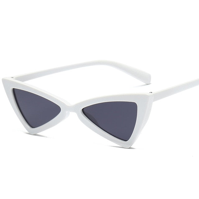 Triangle Cat Eye Women Sunglasses - Mad Jade