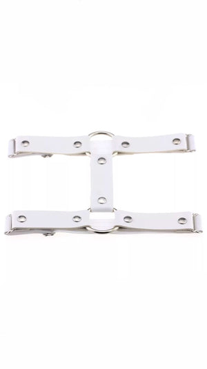 WHITE CIRCLE LEG HARNESS