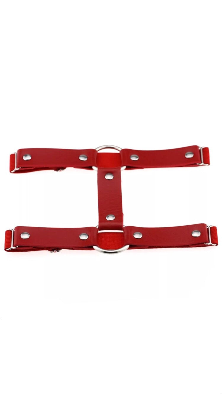 RED CIRCLE LEG HARNESS