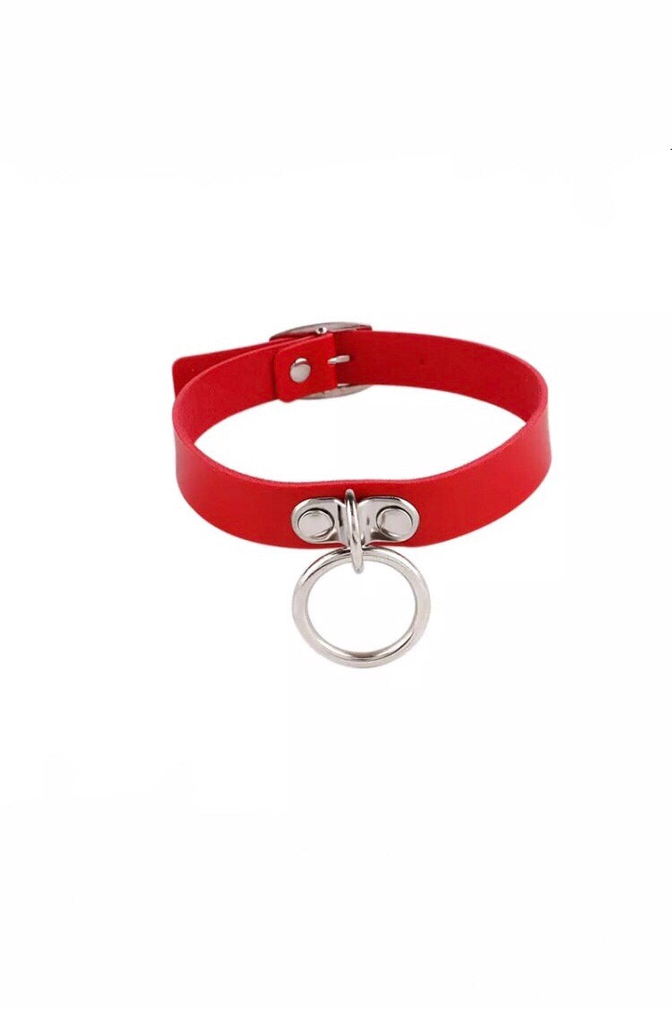 RED RING CHOKER