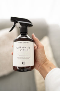 JenLiving® OFFWHITE LOTUS Home Perfume