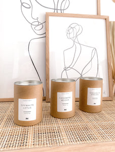 JenLiving® CASHMERE MOODS Fragrance Candle