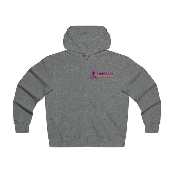 Men's Lightweight Zip Hooded Sweatshirt w/ Hitting Performance Lab Logo