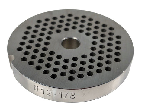#12 Meat Grinder Plate / Knife - Choose Your Knife & Grind Hole Size from Coarse to Fine-Cozzini Cutlery Imports
