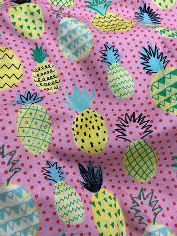 Minky-Pineapple party