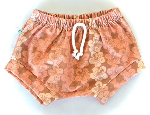 New VINTAGE SHORTIES-hibiscus