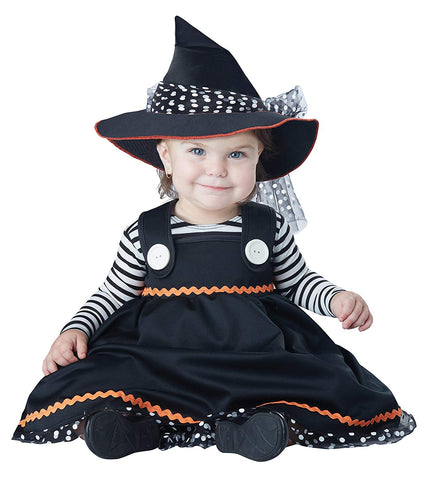 California Costumes Baby Girls  Crafty Lil  Witch Infant ea6c6696f65c