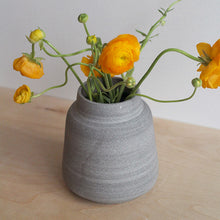 Load image into Gallery viewer, Wide Stone Vase