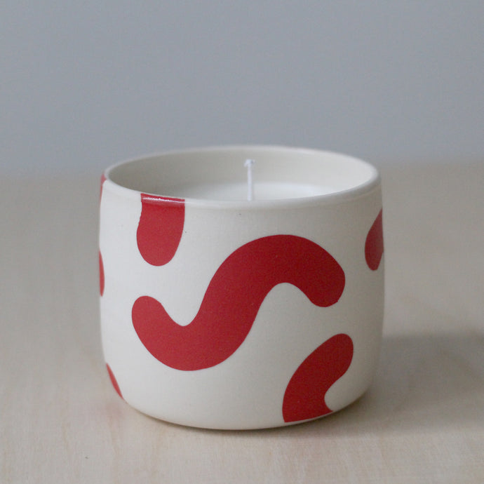 Red Noodle Soy Candle