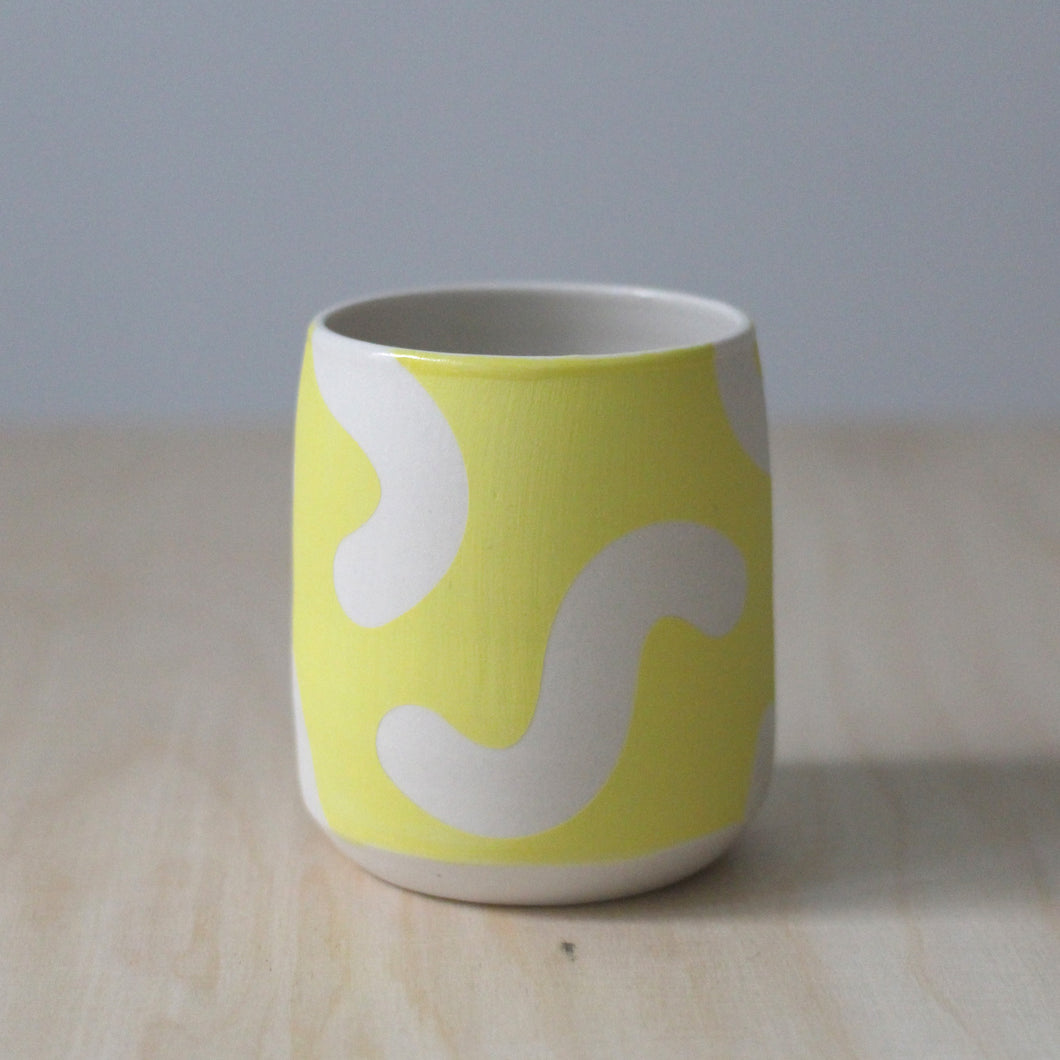 Solid Yellow Noodle Cup