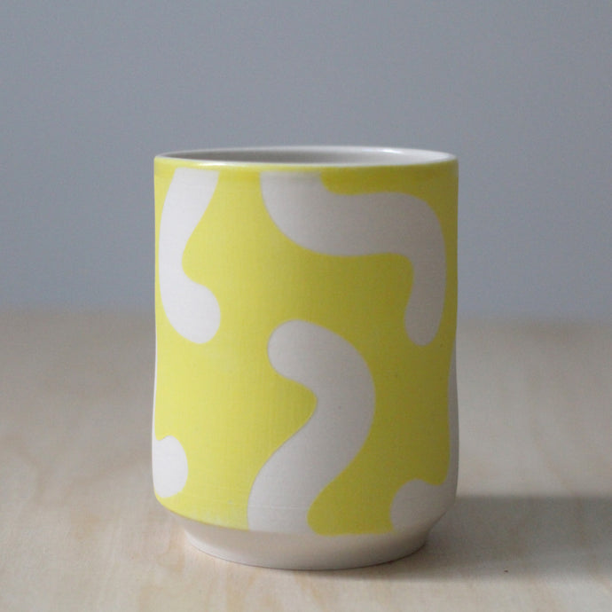 Solid Yellow Noodle Tumbler