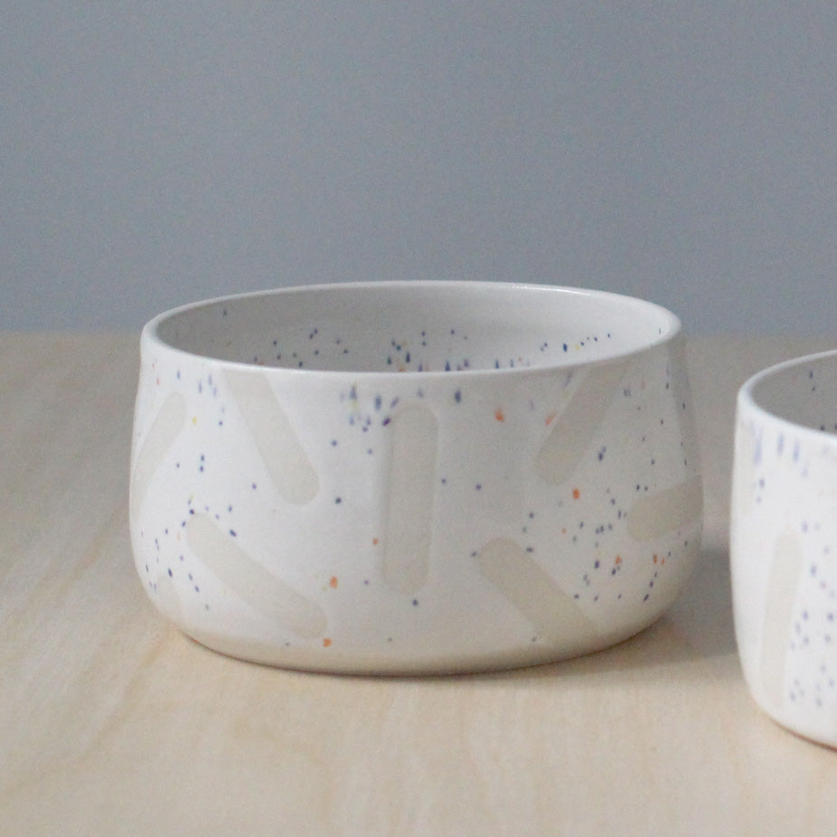 Speckle Sprinkle Bowl