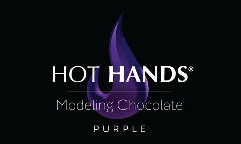 HOT HANDS Purple Modeling Chocolate