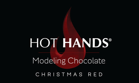 HOT HANDS CHRISTMAS RED Modeling Chocolate