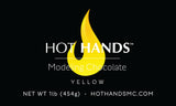 HOT HANDS Yellow Modeling Chocolate