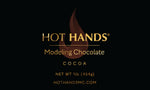 HOT HANDS COCOA Dark Modeling Chocolate