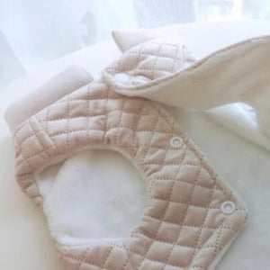 Quilted Winter Dog Jacket, Beige