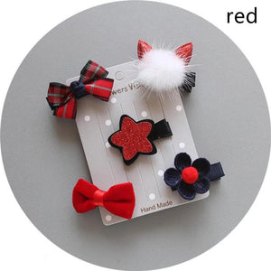 Flowers & Hearts Hair Bows & Clips for Small Dogs