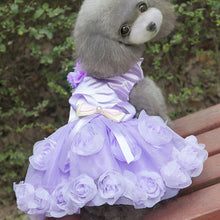 Lavender Party Dress for Small Dogs - The Uppity Puppy