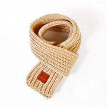 Soft Knitted Scarf in beige for Medium & Large Dogs