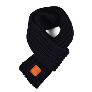 Soft Knitted Scarf in navy blue for Medium & Large Dogs