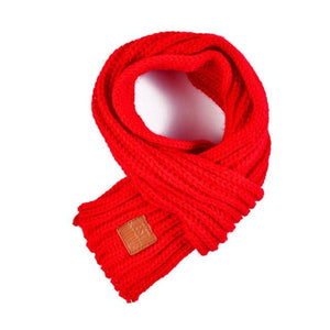 Soft Knitted Scarf in 10 Colors for Medium & Large Dogs