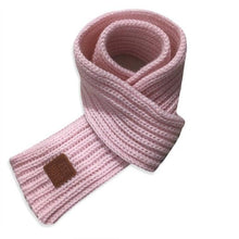 Soft Knitted Scarf in pink for Medium & Large Dogs