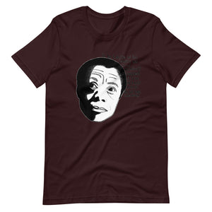 James Baldwin - Black and Conscious Tee